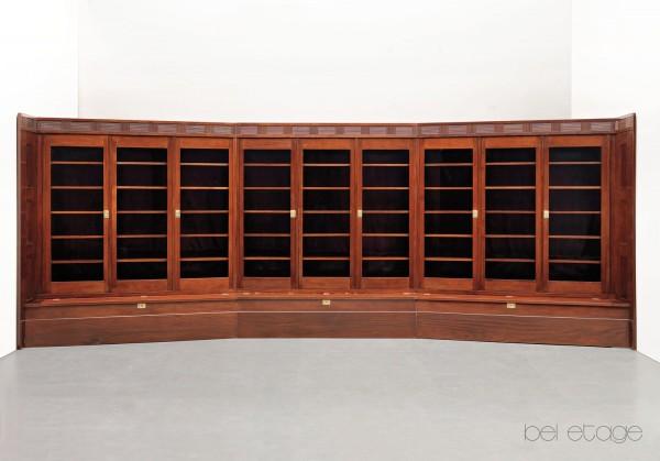 Adolf_Loos_Friedrich_Otto_Schmidt_vienna_1900_library_bookcase_bel_etage