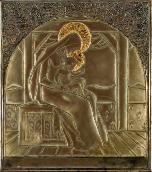 Friedrich_König_panels_copper_vienna_1900_bel_etage