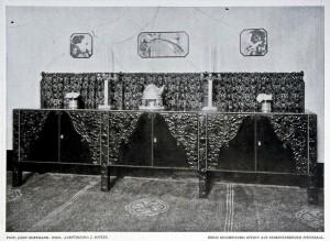 Josef_Hoffmann_Wiener_Werkstätte_Wien_1900_Anrichte_Vitrine_bel_etage
