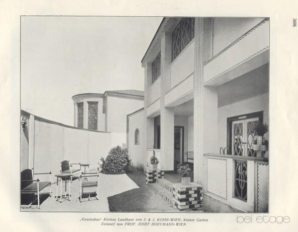 Josef Hoffmann_J&J_Kohn_vienna_1900_Kunstschau_sevenballchair_bel_etage
