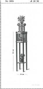 38_J+J Kohn_ Katalog 1916_Blumenständer_ S100