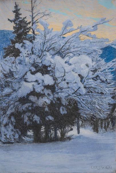 46. Beck, Winterlandschaftmail