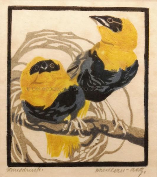 Bresslern-Roth, Vogelpaar
