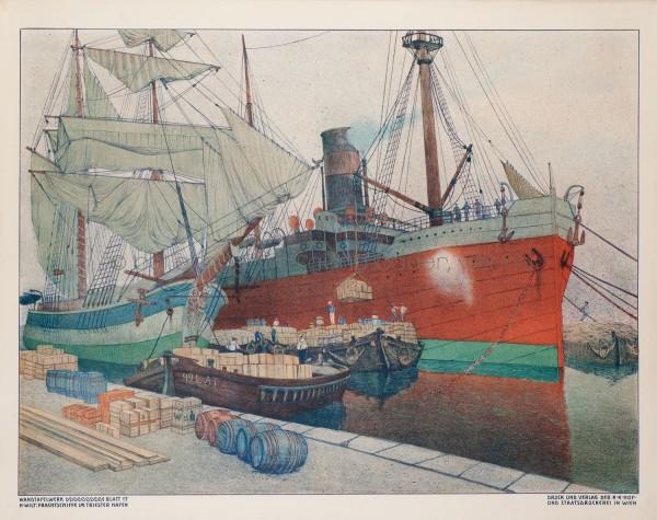 43.3 H. Wilt Frachtschiffe im Triester Hafen_HP
