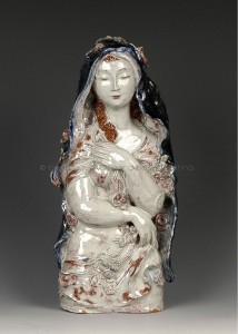 Susi_Singer_Mädchen_mit_Blumen_skulptur_Wien_1900_bel_etage