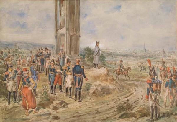 32_Goebel__Napoleon vor Wien_ohne Rahmen